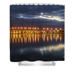 Jensen Beach Causeway #5 Shower Curtain