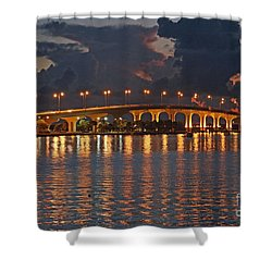 Jensen Beach Causeway Shower Curtain