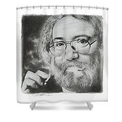 Jerry Garcia Shower Curtain