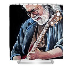 Jerry Garcia - The Grateful Dead Shower Curtain
