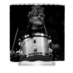 Jerry Shower Curtain by John Loreaux