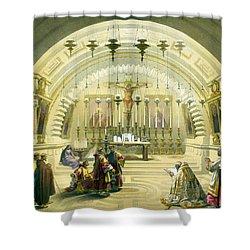Jerusalem Calvery Shower Curtain