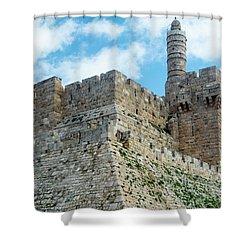 Jerusalem Old City 2 Shower Curtain