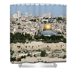 Jerusalem Skyline Shower Curtain