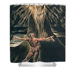 Jerusalem The Emanation Of The Giant Albion Shower Curtain by William Blake