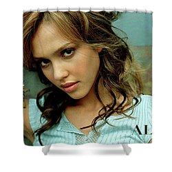 Jessica Alaba Shower Curtain