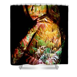Jessica Shower Curtain by Arla Patch