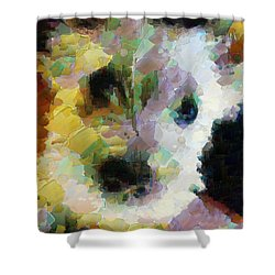 Jessie A Friend For Life Shower Curtain