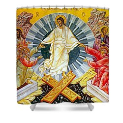 Jesus Bliss Shower Curtain