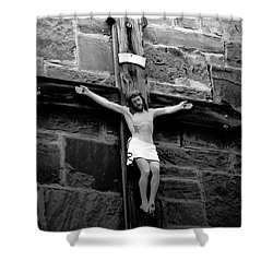 Jesus Christ Shower Curtain by David Lee Thompson