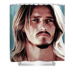Jesus Christ Superstar Shower Curtain by Gabriel T Toro