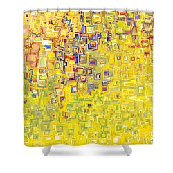 Jesus Christ The Holy Child Shower Curtain by Mark Lawrence