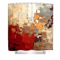 Jesus Christ The Only Begotten Son Shower Curtain by Mark Lawrence