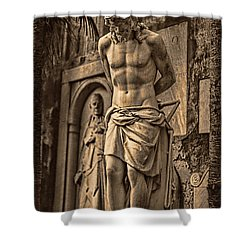 Jesus In Rome Shower Curtain