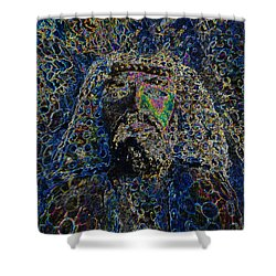 Jesus Of Nazareth Shower Curtain by David Lee Thompson