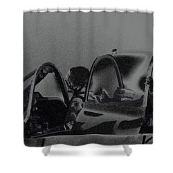 Jet Pilots Shower Curtain by Karol Livote