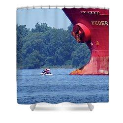 Jet Ski Shower Curtain