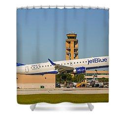 Jetblue Shower Curtain