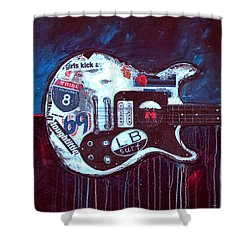 Jett Engine Shower Curtain