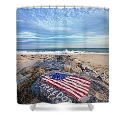 Jetty Four Beach Shower Curtain