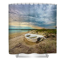 Jetty Four Dinghy Shower Curtain