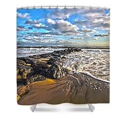 Jetty Four Shower Curtain