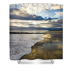 Jetty Four Shorebreak Shower Curtain