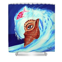 Jewel Of Shell Shower Curtain