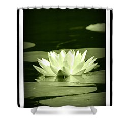 Jewel Of The Pond Shower Curtain