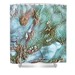 Jewel Of The Sea Shower Curtain