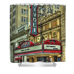 Jewel Of The South Tivoli Chattanooga Historic Theater Shower Curtain by Reid Callaway