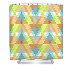 Jeweled Shower Curtain by SharaLee Art