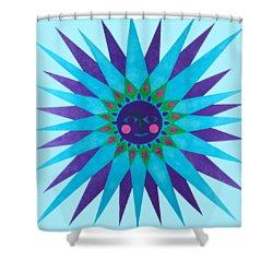 Jeweled Sun Shower Curtain