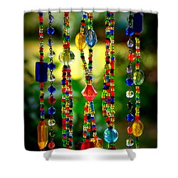 Jewels In The Sun Shower Curtain