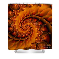 Jewels Of Autumn Shower Curtain by Michelle H