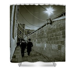 Jewish Promenade Shower Curtain