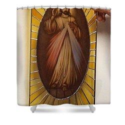 Jezu Ufam Tobie Shower Curtain