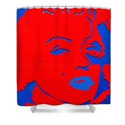 Jfk And The Other Woman Shower Curtain by Robert Margetts