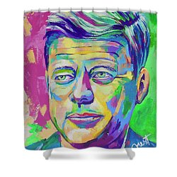 JFK Shower Curtain
