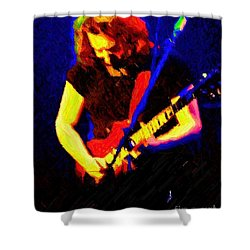 Shower Curtain featuring the photograph Stella Blue by Susan Carella