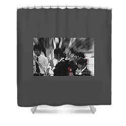 Jidai Matsuri Viii Shower Curtain by Cassandra Buckley