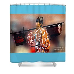 Jidai Matsuri Xxv Shower Curtain by Cassandra Buckley