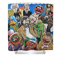Jim Henson And Co. Shower Curtain
