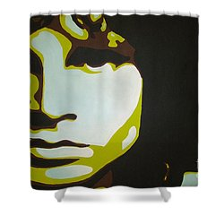 Jim Morrison Shower Curtain