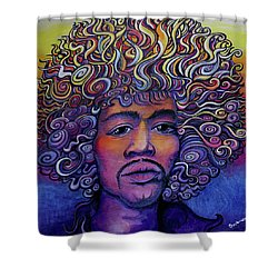 Jimigroove Shower Curtain