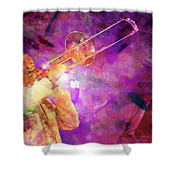 Jimmy Bosch,painting Styles Shower Curtain