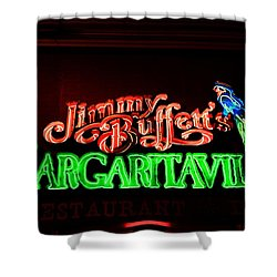 Jimmy Buffett's Margaritaville Shower Curtain