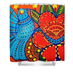 Jinga Bird - Jinga Bird Series Shower Curtain