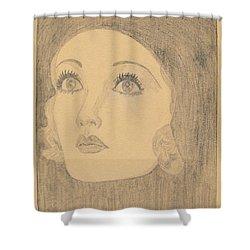 Joanne Bennett  Shower Curtain