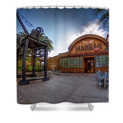 Jock Lindsey's Hangar Bar Shower Curtain